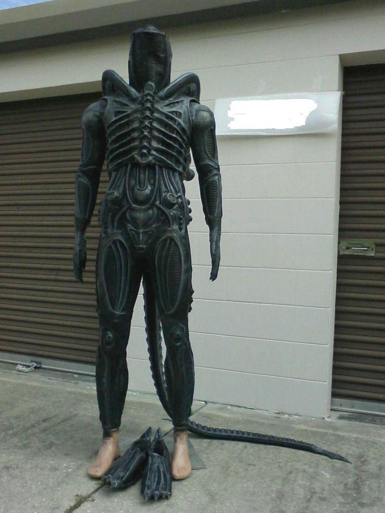 Kit Alien Style Body Suit Pieces Kit Costume Prop Xenomorph
