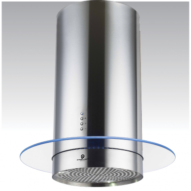 70cm Round Island Cooker Hood With Mood LED Lighting   AT91.7SM