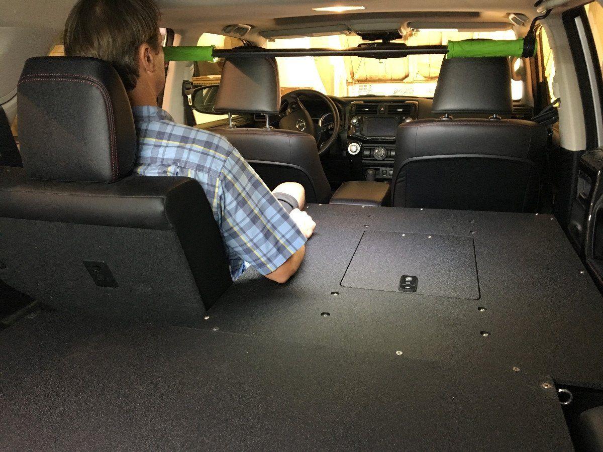4runner 5th Gen Sleeping Platforms 4runner Interior Design Software Toyota 4runner
