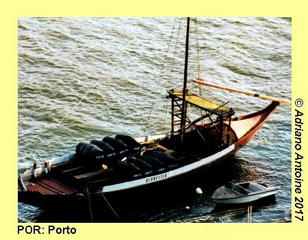 Imaging Portugal 057: Portwine Boat, PORTO | Adriano Antoine