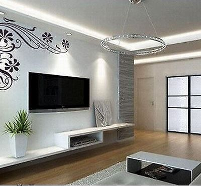 cool black and white tv wall units modular furniture small living room | Pin on House ideas