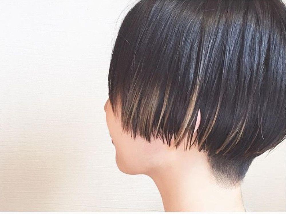 2018 黒髪 メッシュが超トレンド 長さ別人気カラー スタイル30選