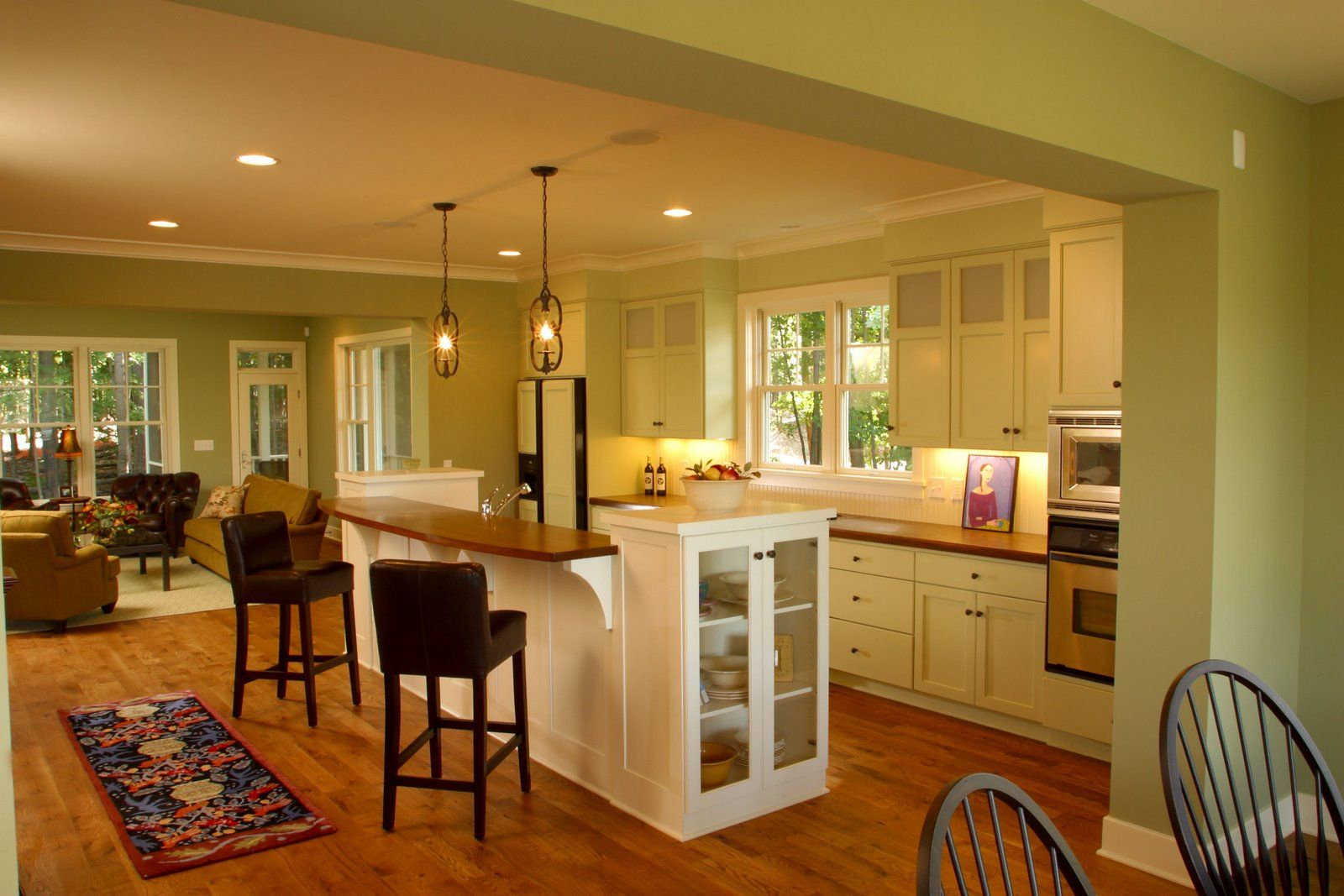 interior design for living room and kitchen - 1000+ images about small kitchen & dinning room on Pinterest wo ...