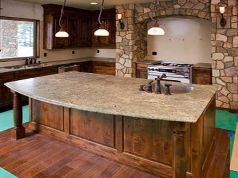 Kitchen Types Countertops For With Traditional Theme Materials