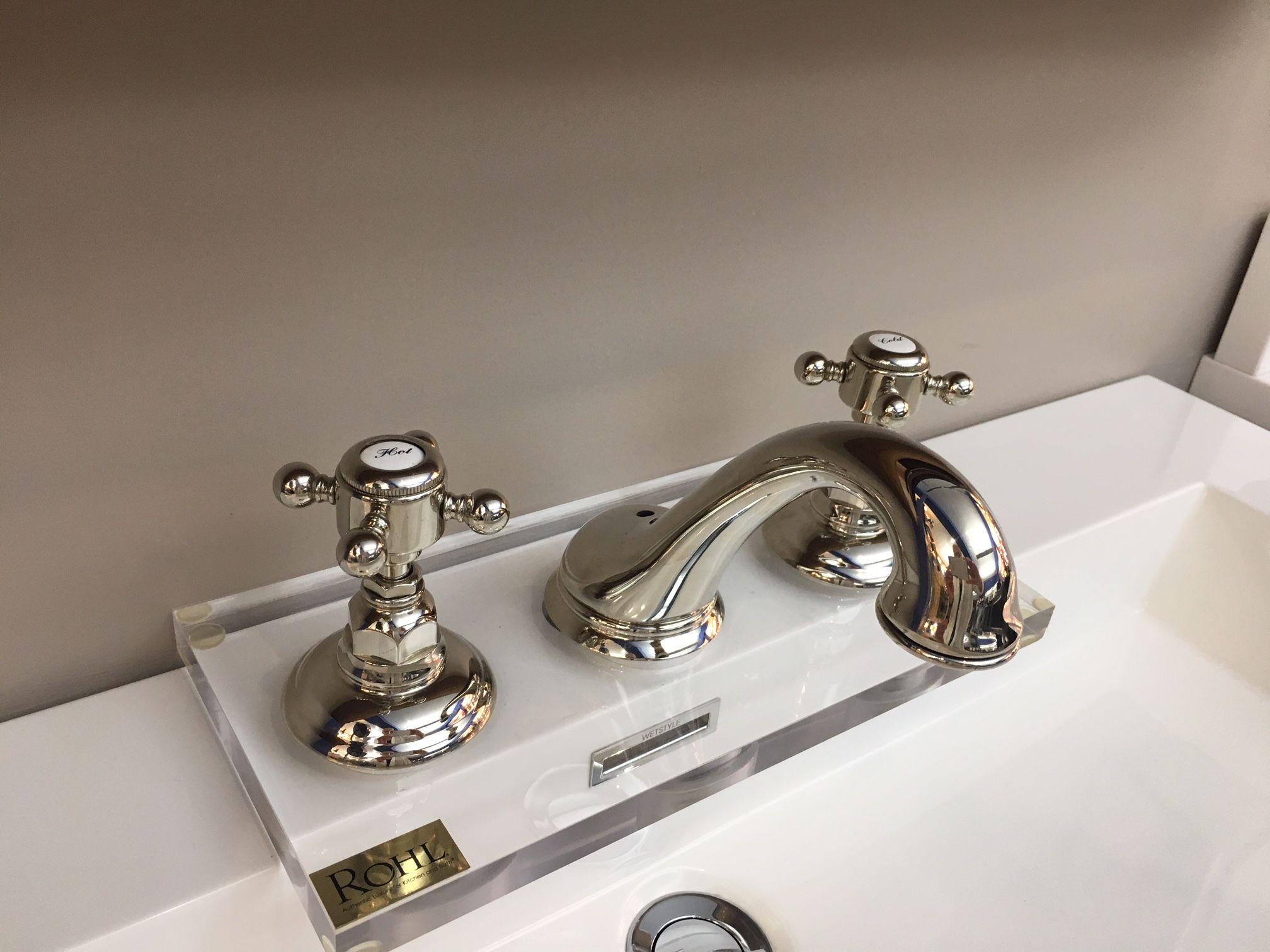 rohl viaggio faucet with black