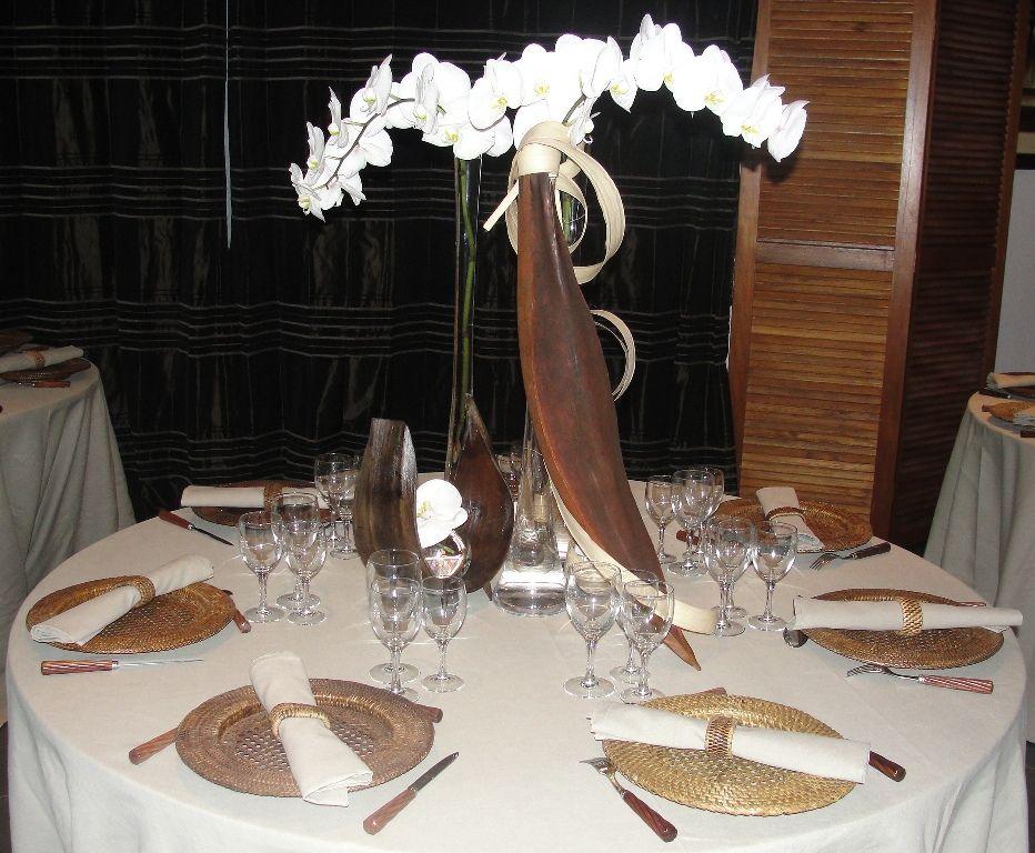 dcoration fte dcoration de table exotique pour mariage - Deco Table Exotique
