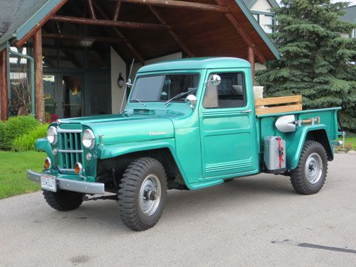 1955 Willys Truck - Photo submitted by Bob Welch. | Trucks ...