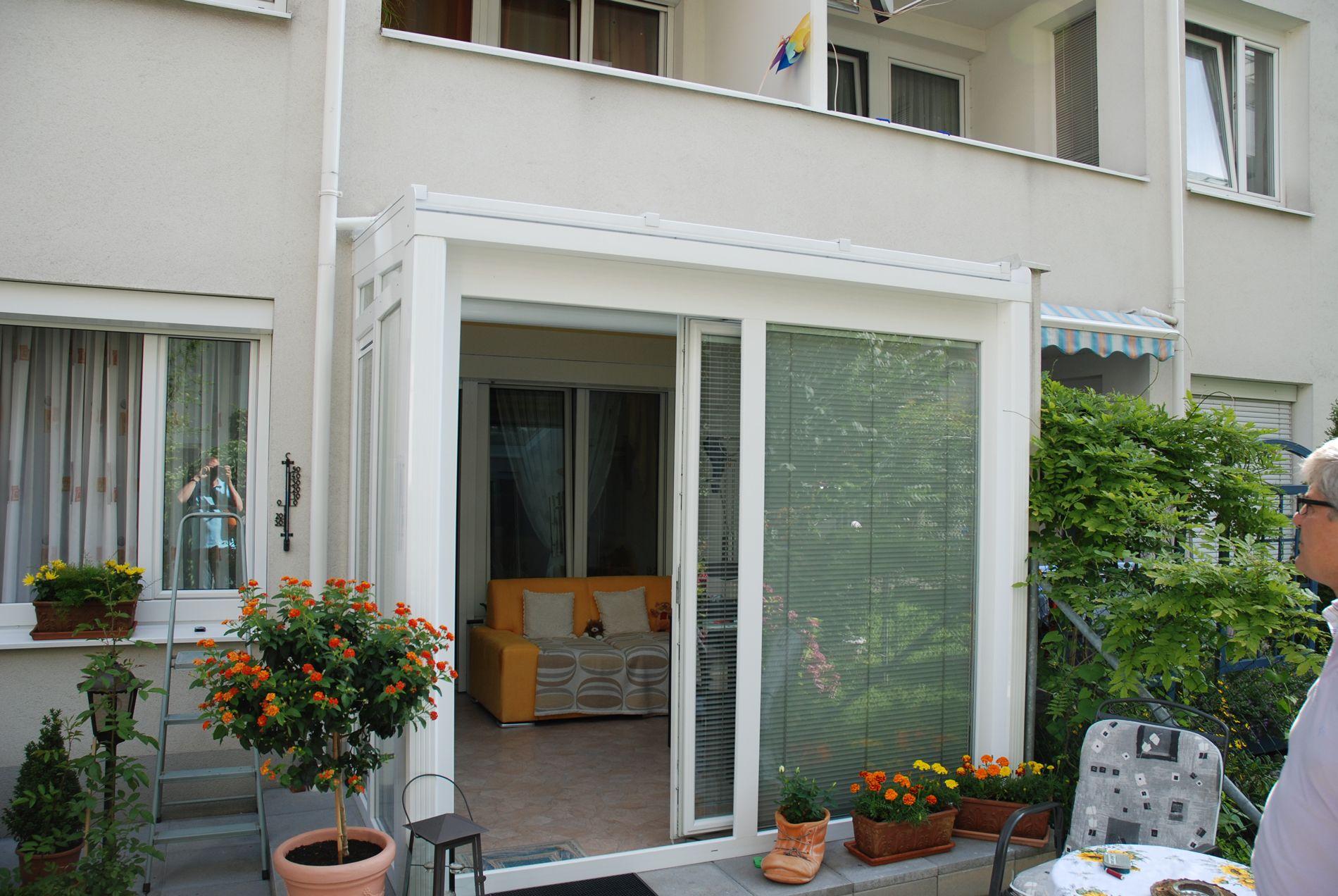 Gut bekannt Kleiner Wintergarten unter Balkon | Verglasungen // Balkon FR12