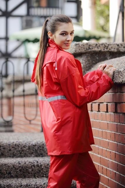Impermeable Poncho Waterproof Double-layer Rain Coat For Women