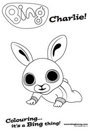 Colouring Bing Bunny Disegni Da Colorare Attivita Per Bambini