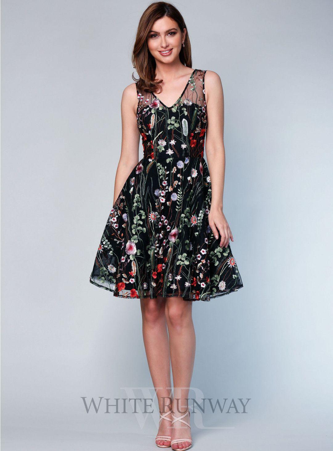 Wu You Fit N Flare. A Stunning Mini Length Dress By Grace U0026 Hart.