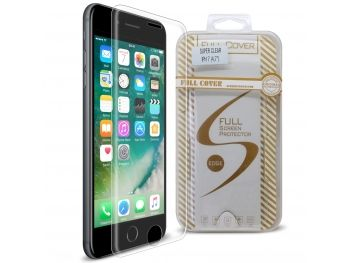 7a767c90226795 Protection d écran Verre trempé Apple iPhone 7 (4.7) Full Cover Ultra Clear