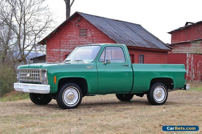 1980 Chevrolet C 10 Custom Deluxe Chevrolet C10 Forsale Unitedstates Cars For Sale C10 Chevy Truck Chevy Trucks