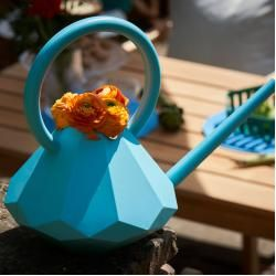 Photo of Diamond watering can 8L turquoise Garden Glory