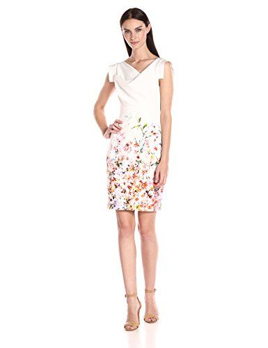Black Halo Jackie O Dress in Daisy/Natural White - http://www.womansindex.com/black-halo-jackie-o-dress-in-daisy-natural-white/ #BlackHalo #JackieODress