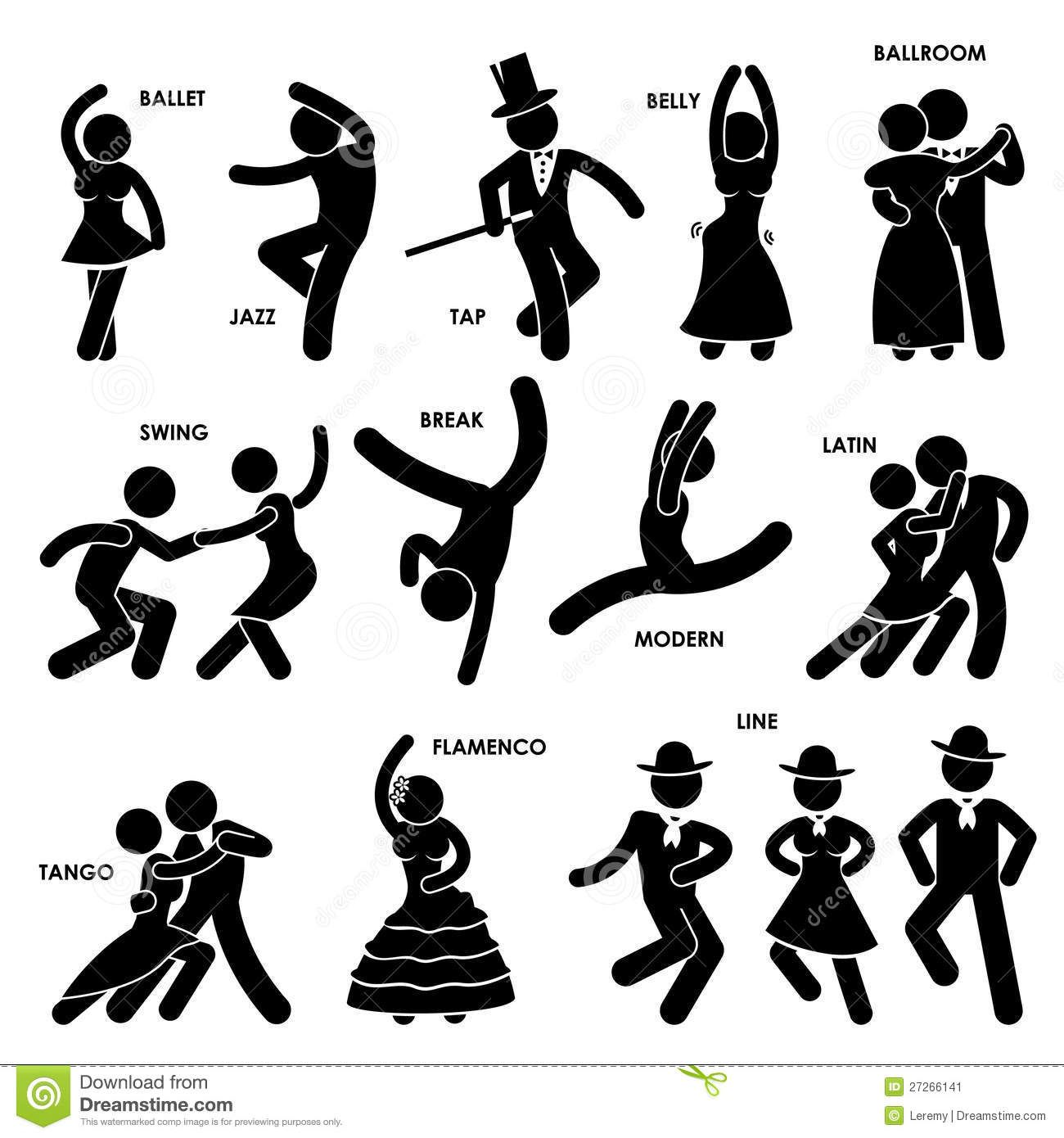 Dancing Dancer Pictogram Download From Over 54 Million