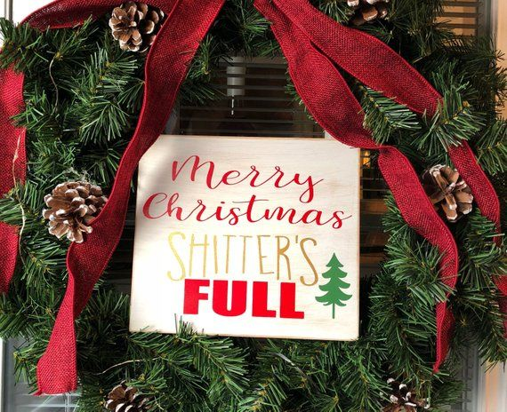 Merry Christmas shitters full in 2018 Products Pinterest Merry