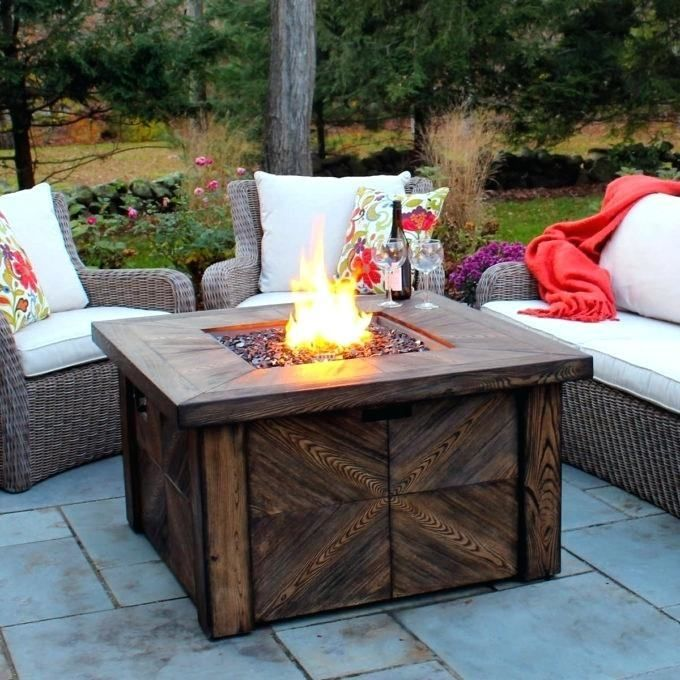 Fire Pit Decor, Outdoor Gas
