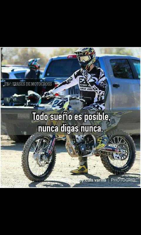 Pin De Santiago García En Frases De Motocross Motocross