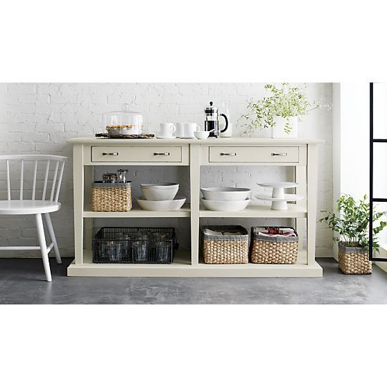 The Open Shelves Make This Feel Modern And Practical Too