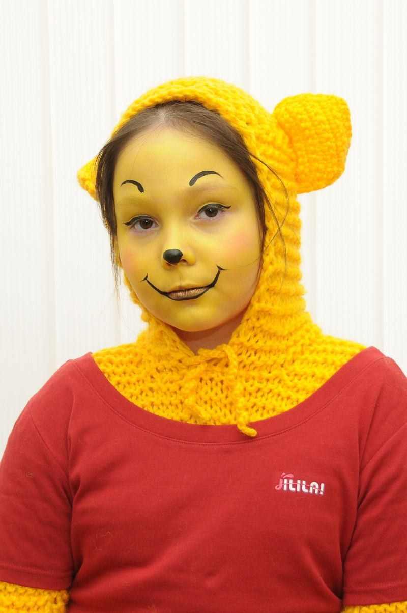 307ac48c290b Winnie-the-Pooh and almost all his friends face painting