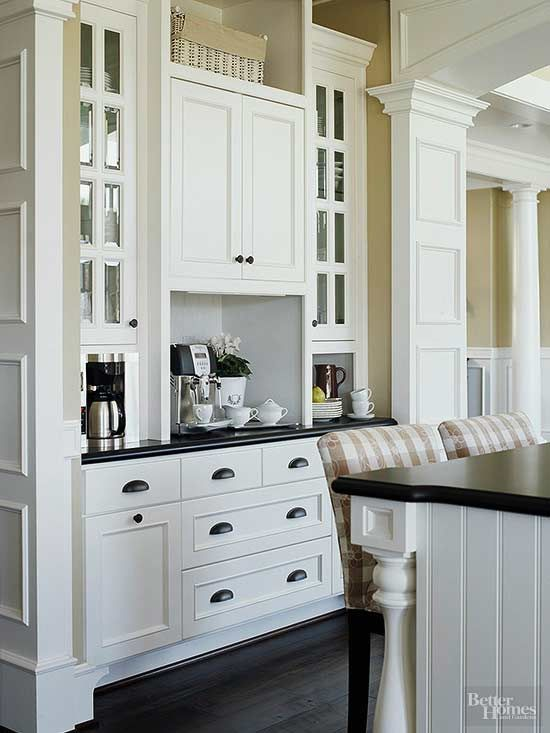 coffee station ideas  home home kitchens kitchen remodel