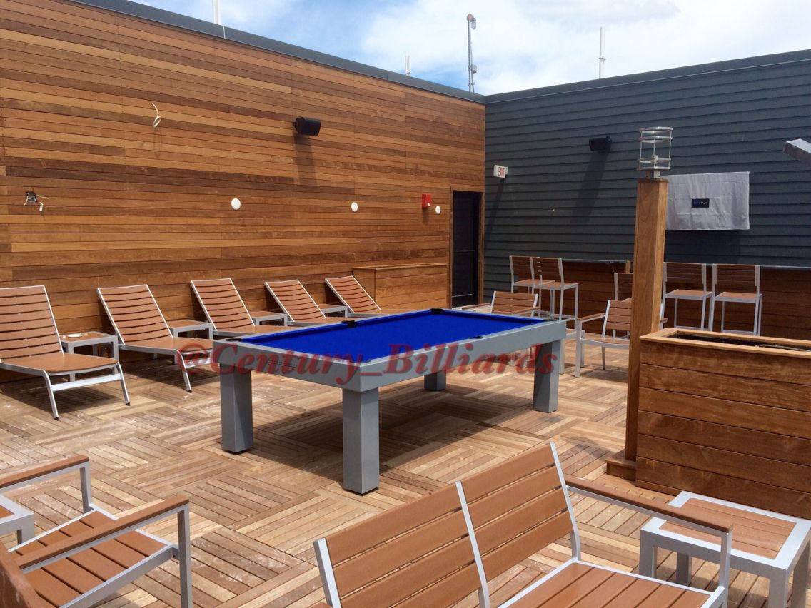 The Perfect Outdoor Dining Table Outdoor Pool Table Conference - Pool table conference table