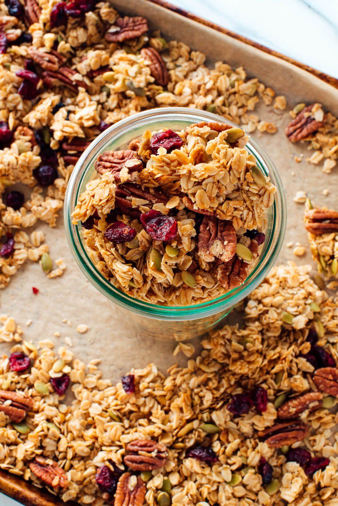 Healthy Granola Recipe Healthy Snacks Healthy Brunch Brunch