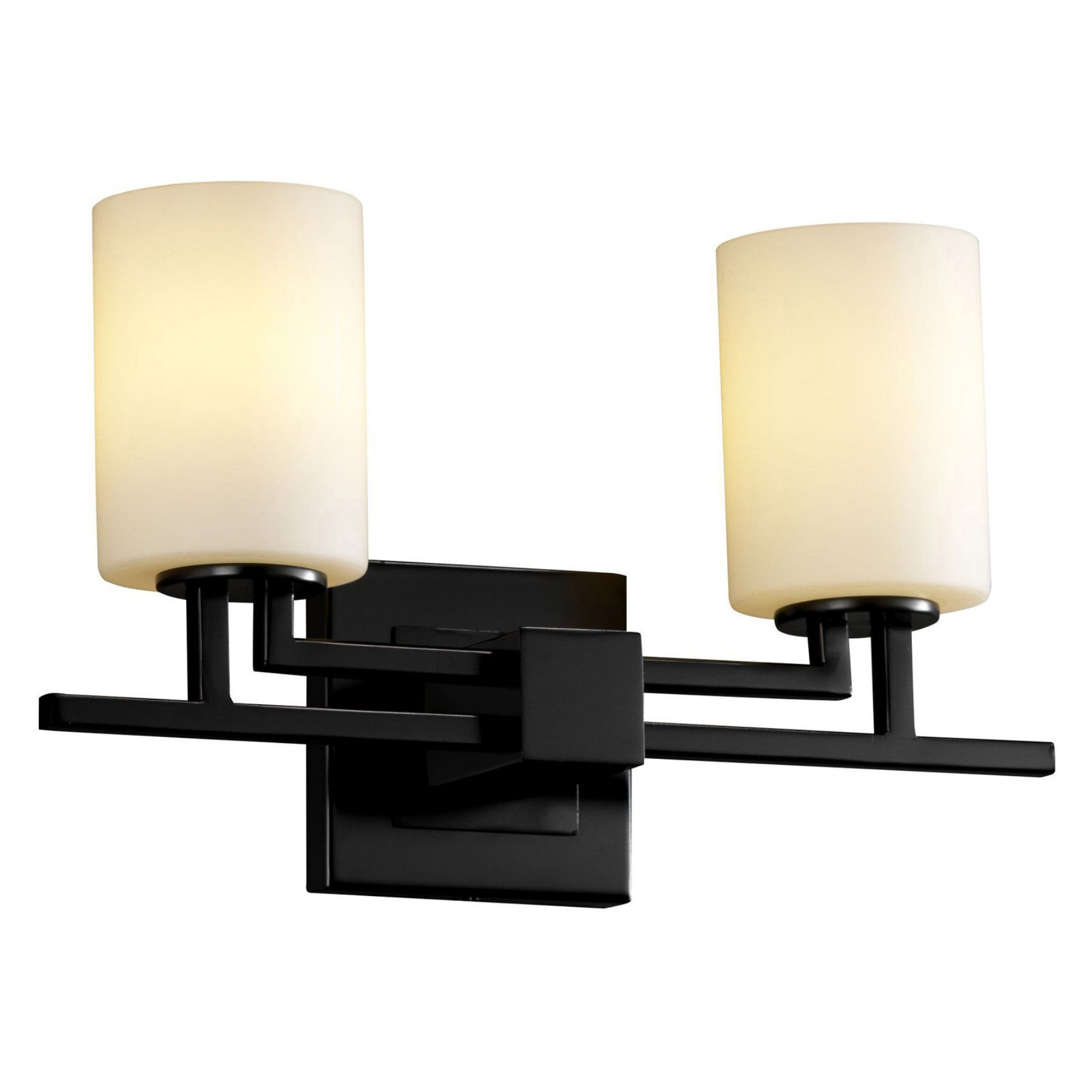 Justice Design Group Fusion FSN-8702-10-OPAL Aero Vanity Light - FSN ...