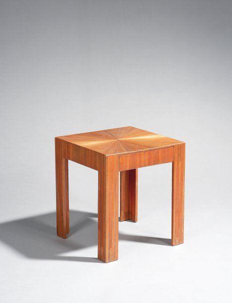 Frank Jean Michel Elegante Table Basse En Marqueterie Soleil En Paille Decor Home Decor Table