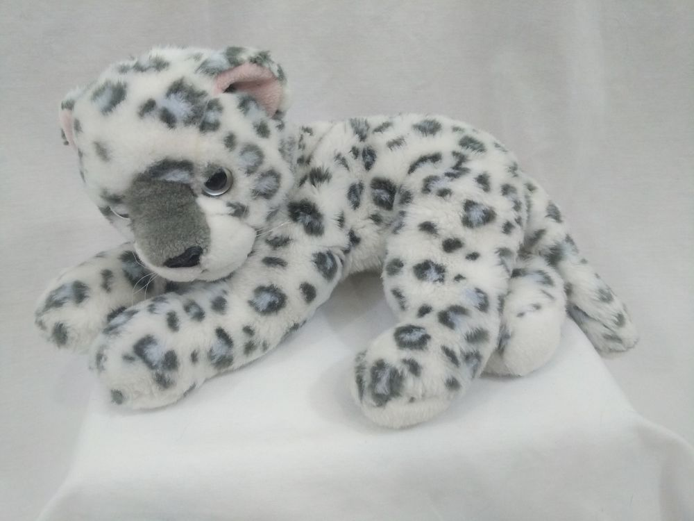 Ty The Beanie Baby Collection Leopard Stuffed Animal Plush Ty