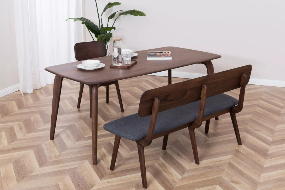 Vincent Dining Table With Bench And 2 Chairs Castlery Australia
