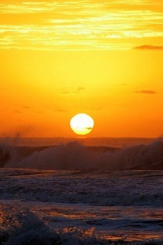 Beach sunset destin Florida