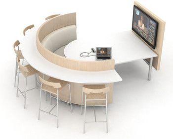 Agati Furniture Elements Media Center Office Interior Design