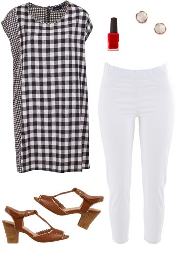 Check Mate Outfit includes Gordon Smith, Threadz, and Miz Mooz - Birdsnest Clothing Online
