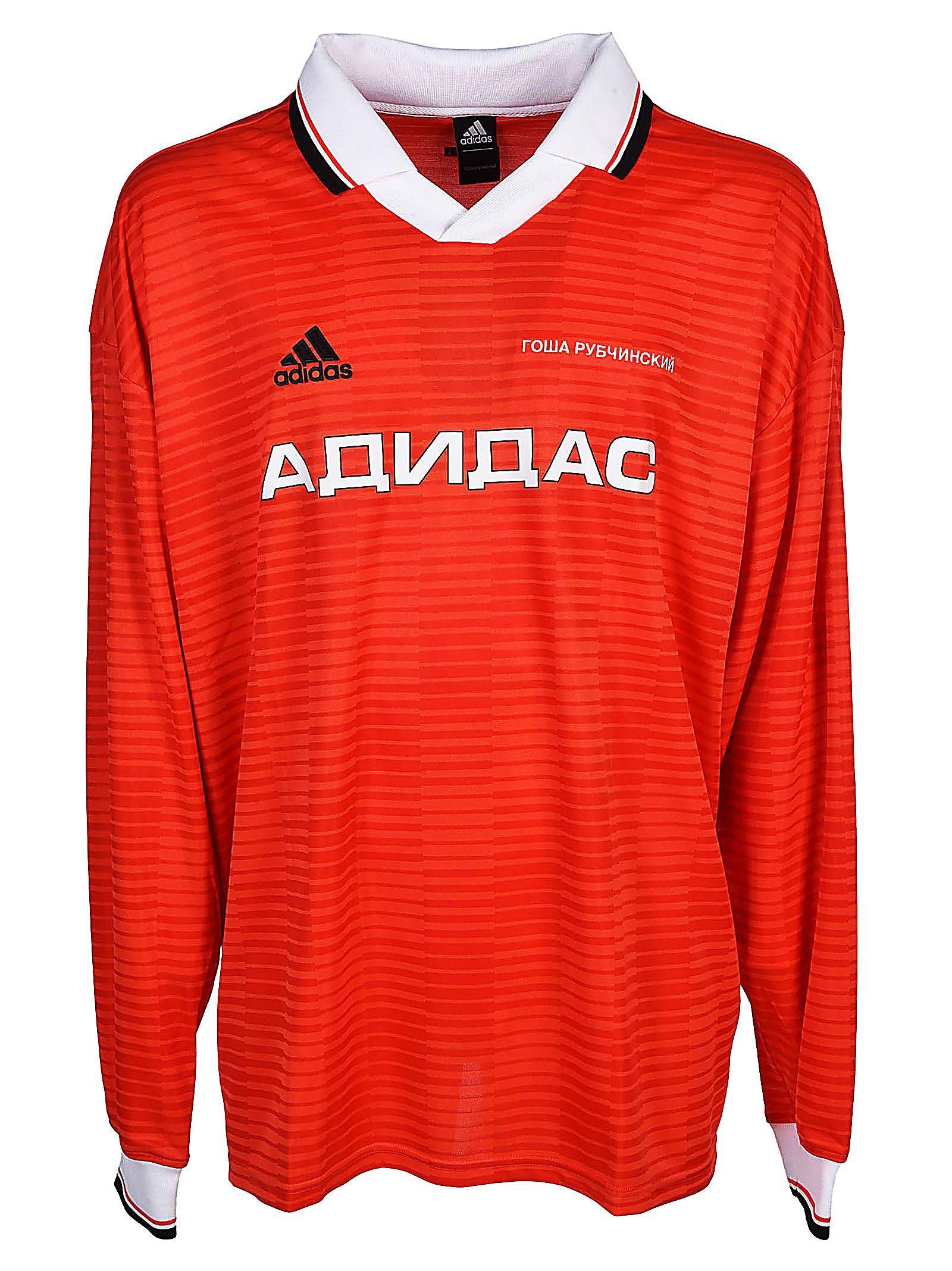 667472ccd GOSHA RUBCHINSKIY X ADIDAS FOOTBALL JERSEY STYLE T-SHIRT. #gosharubchinskiy  #cloth #
