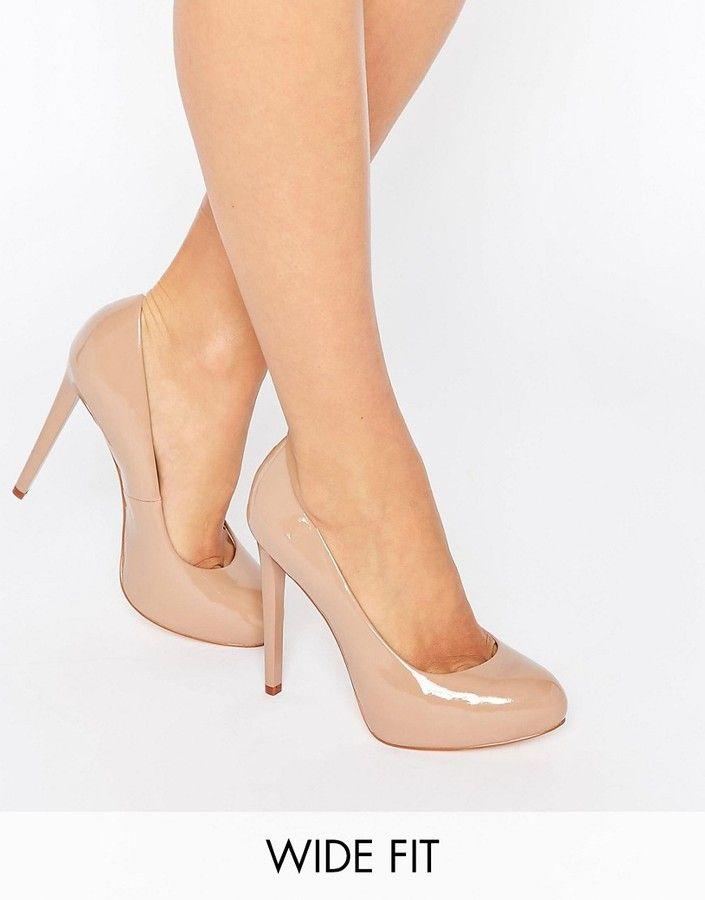 f9fb681f823 Nude Wide Heels - Ha Heel