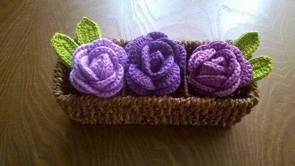 #myknittingrose
