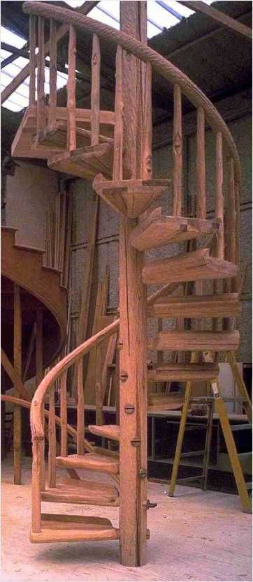 47+ Charming Rustic Interior Design with Pine Spiral Staircase Ideas – Master Ho…