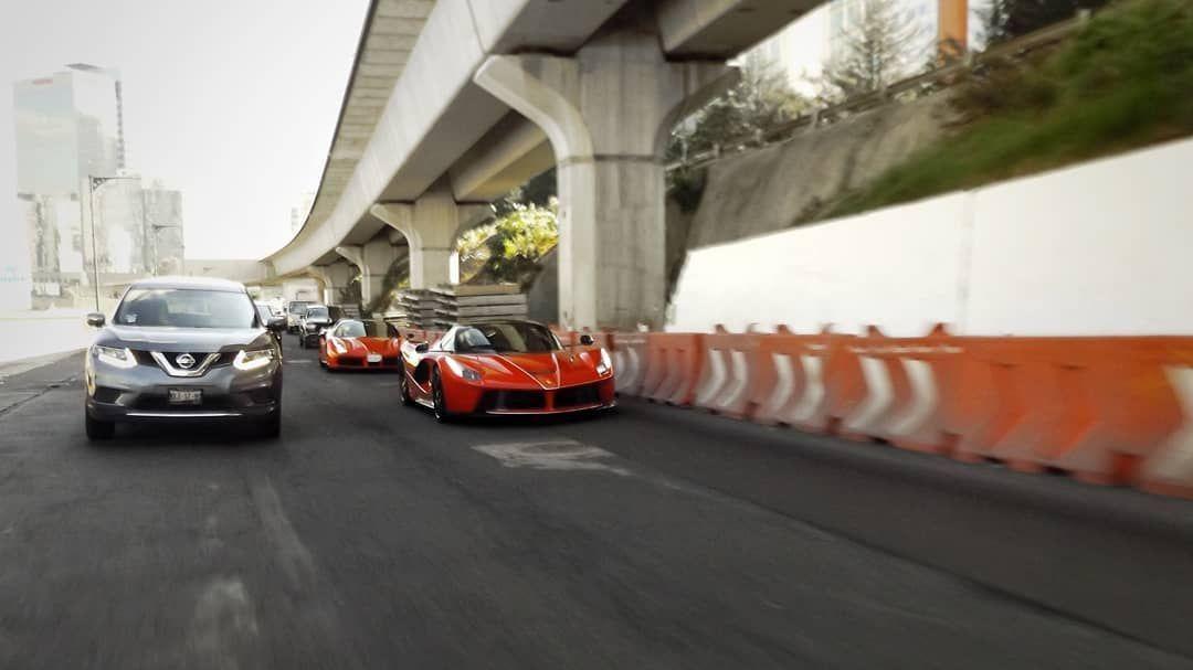 Don Huayra y su Ferrari LaFerrari Aperta este fin de semana. . . Don Huayra y su Ferrari