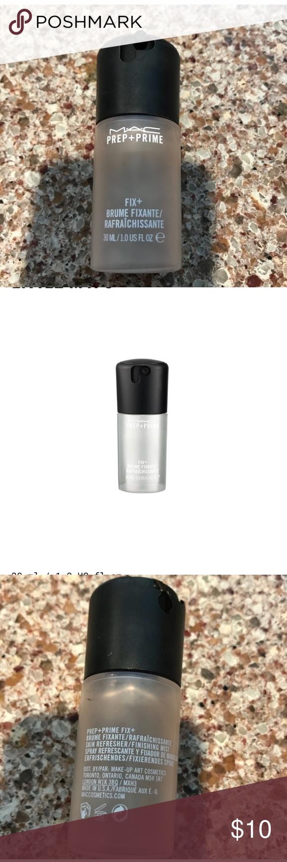 MAC Prep + Prime Fix Makeup Setting Spray! Makeup