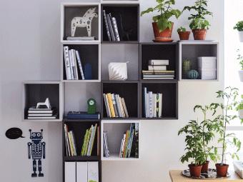 Go to EKET Planner | bookshelves | Living room storage, Living room ...