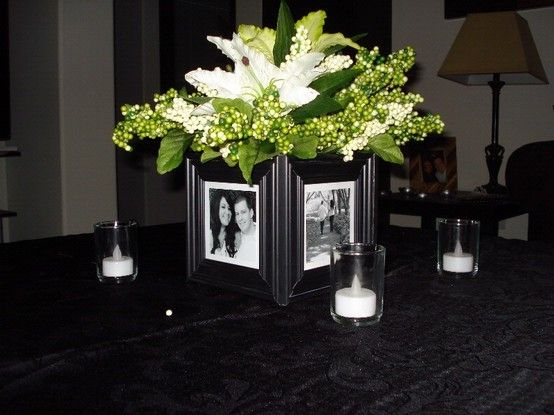 Picture Frame Centerpieces Home Simplicity In 2019