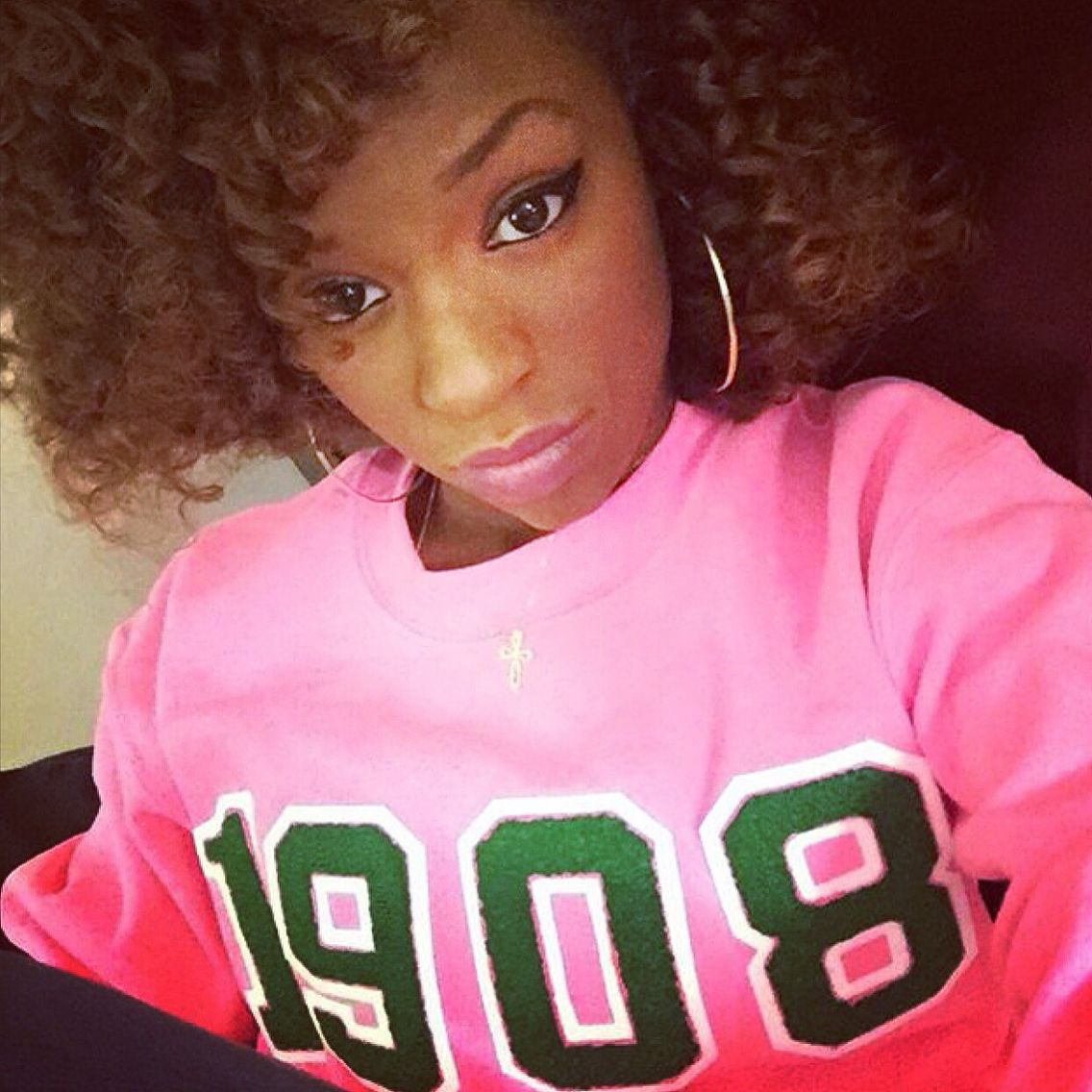 Alpha Kappa Alpha 1908 sweatshirt! | Fashionably Greek | Pinterest
