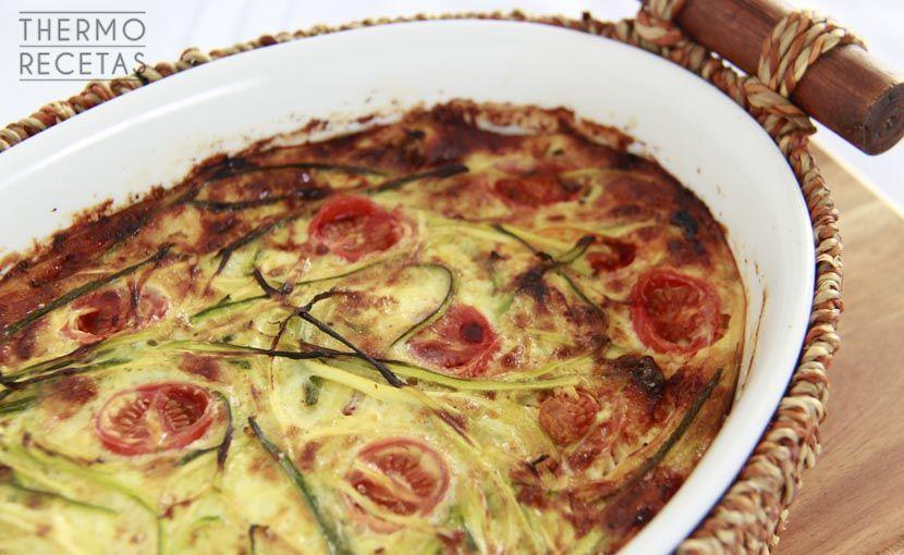 Pastel vegetal sin gluten receta thermomix sin - Cenas sin cocinar ...