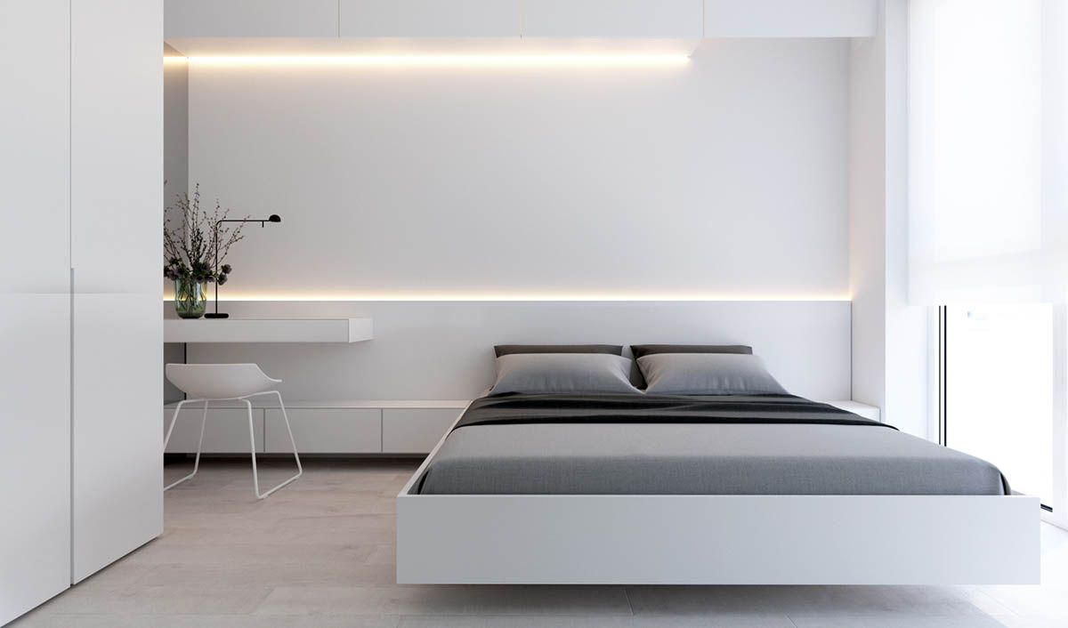 Simple Modern Bedroom Design Classy 2 Simple Modern Homes With Simple Modern Furnishings  인테리어 Inspiration Design