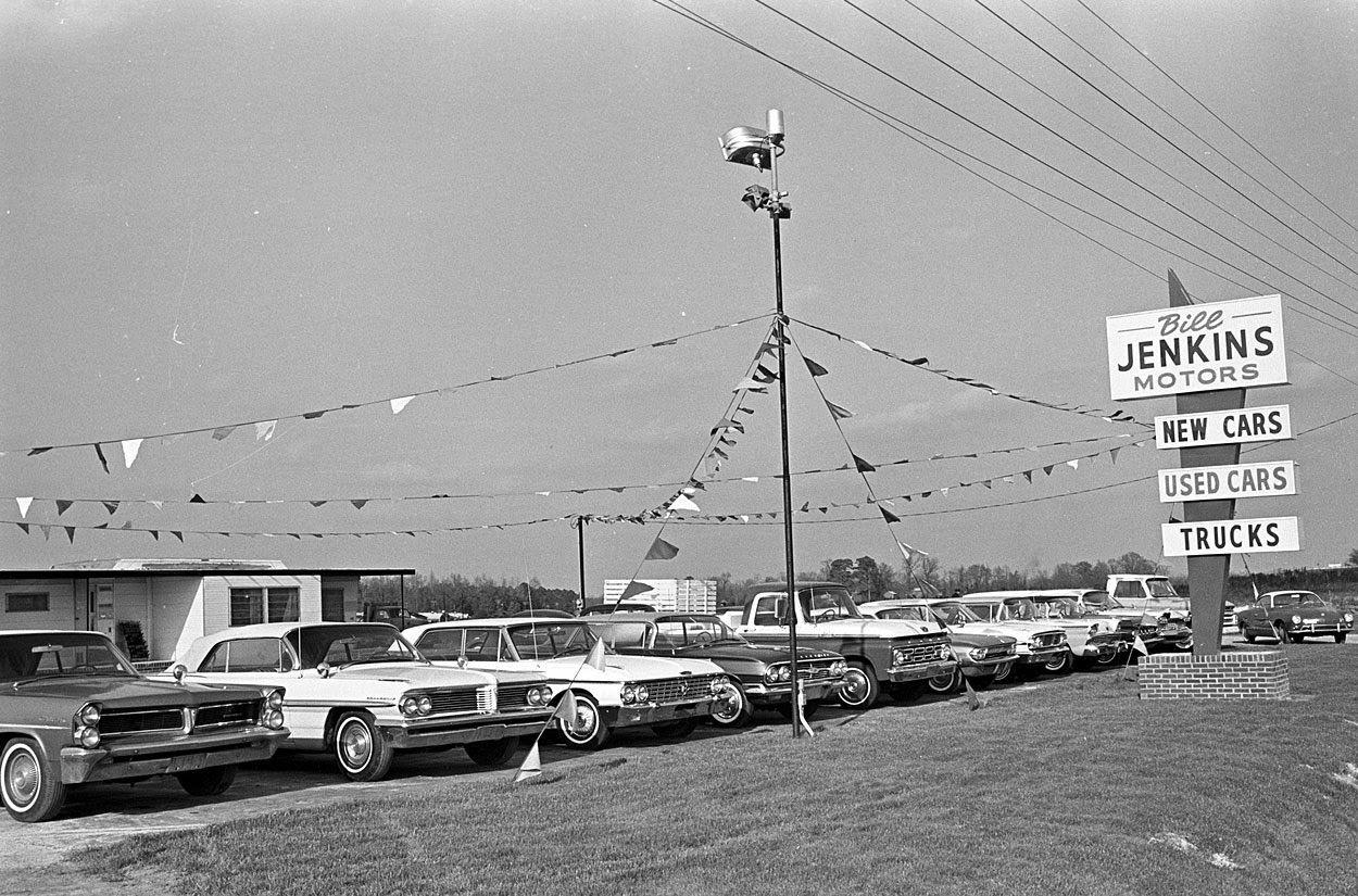 Bill Jenkins Motors. Vintage Dealership | Memorabilia | Pinterest ...