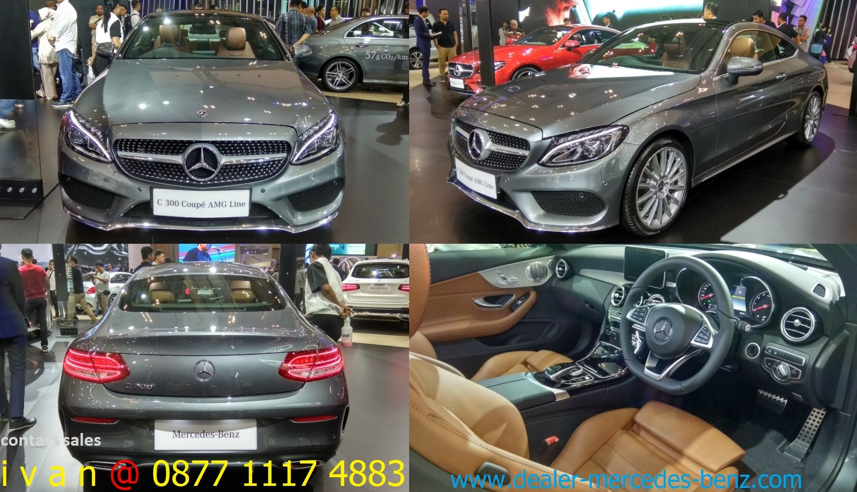 C Class W205 Coupe 2018 Indonesia Mercedes Benz Coupe Mercedes