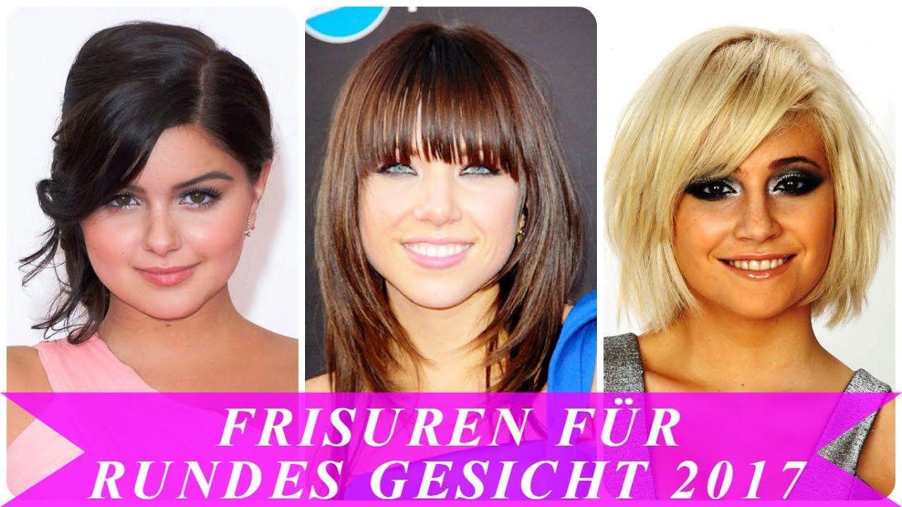 Erstaunlich Frisuren Frauen Rundes Gesicht In 2020 Short