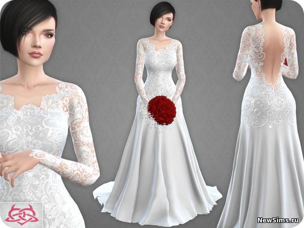 9bffa17b277 Свадебные платья от Colores Urbanos для симс 4 - 29 Сентября 2017 - Скачать  бесплатно дополнения для симс 3 симс 4 Sims 4